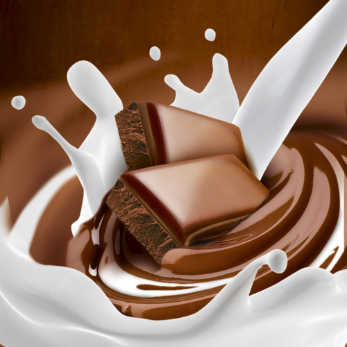 leche y chocolate