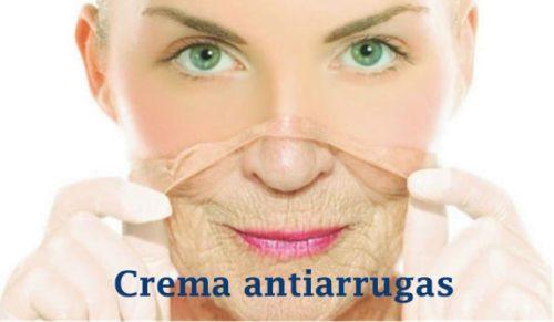 crema antiarrugas de hidratación intensiva